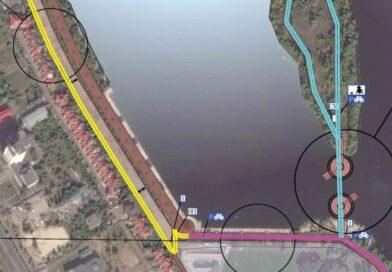 Парк Наталка планують зєднати пішохідним мостом з островом Оболонським