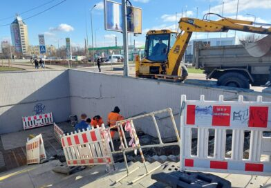 На проспекті Бандери завершується ремонт підземного переходу